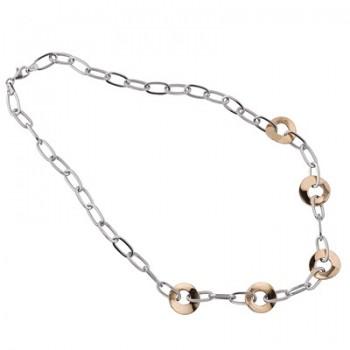 Collar de Plata/Oro 0,5/10 con eslabones - Regalanda