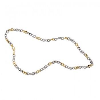 Cadena de Plata/Oro 1/10 rolo de 60 cm - Regalanda