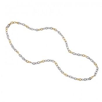 Cadena de Plata/Oro 1/10 con eslabones, 60cm - Regalanda