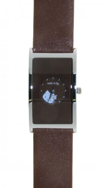 Reloj de HELLO KITTY para señora con pulsera de polipiel marrón. Esfera en marrón. - Regalanda