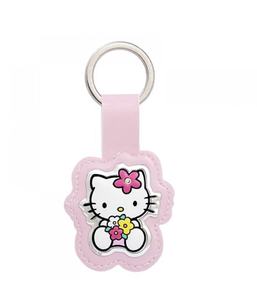 Llavero Hello Kitty de plástico rosa - Regalanda