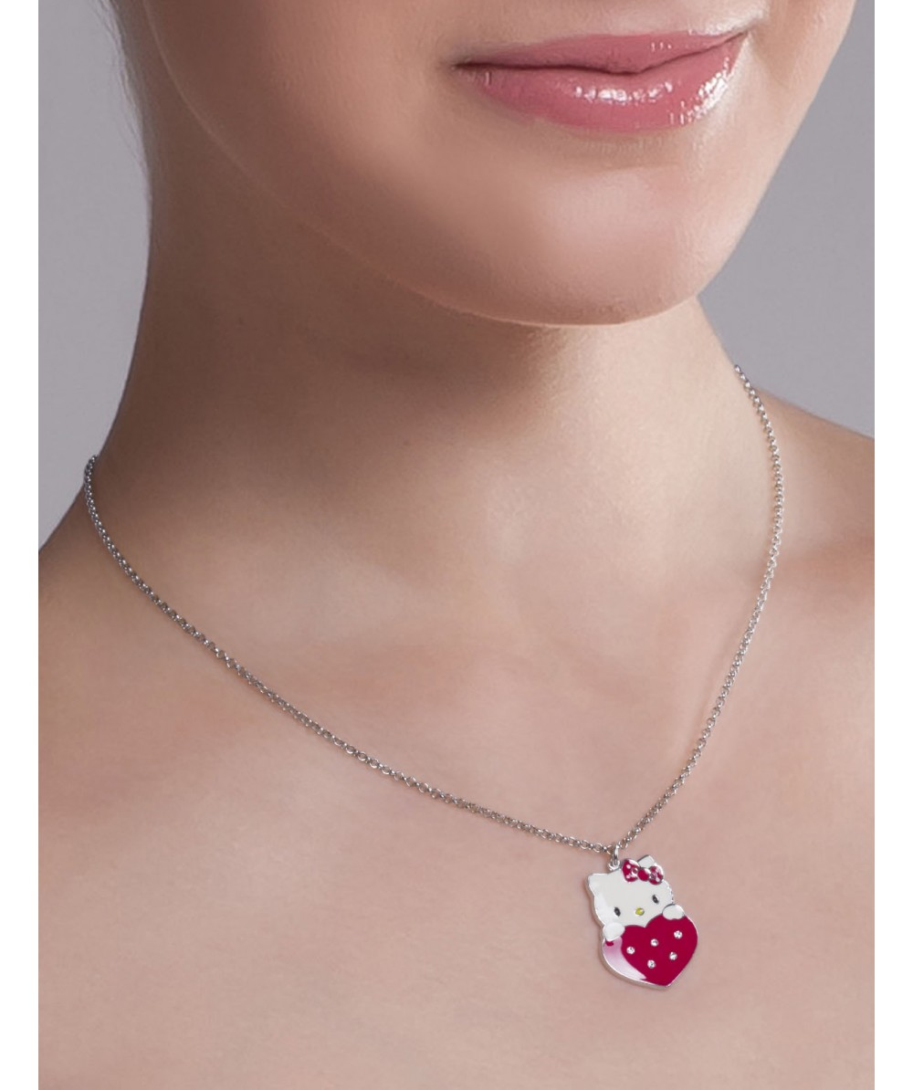COLLAR RED HEARTS ROJO - Regalanda