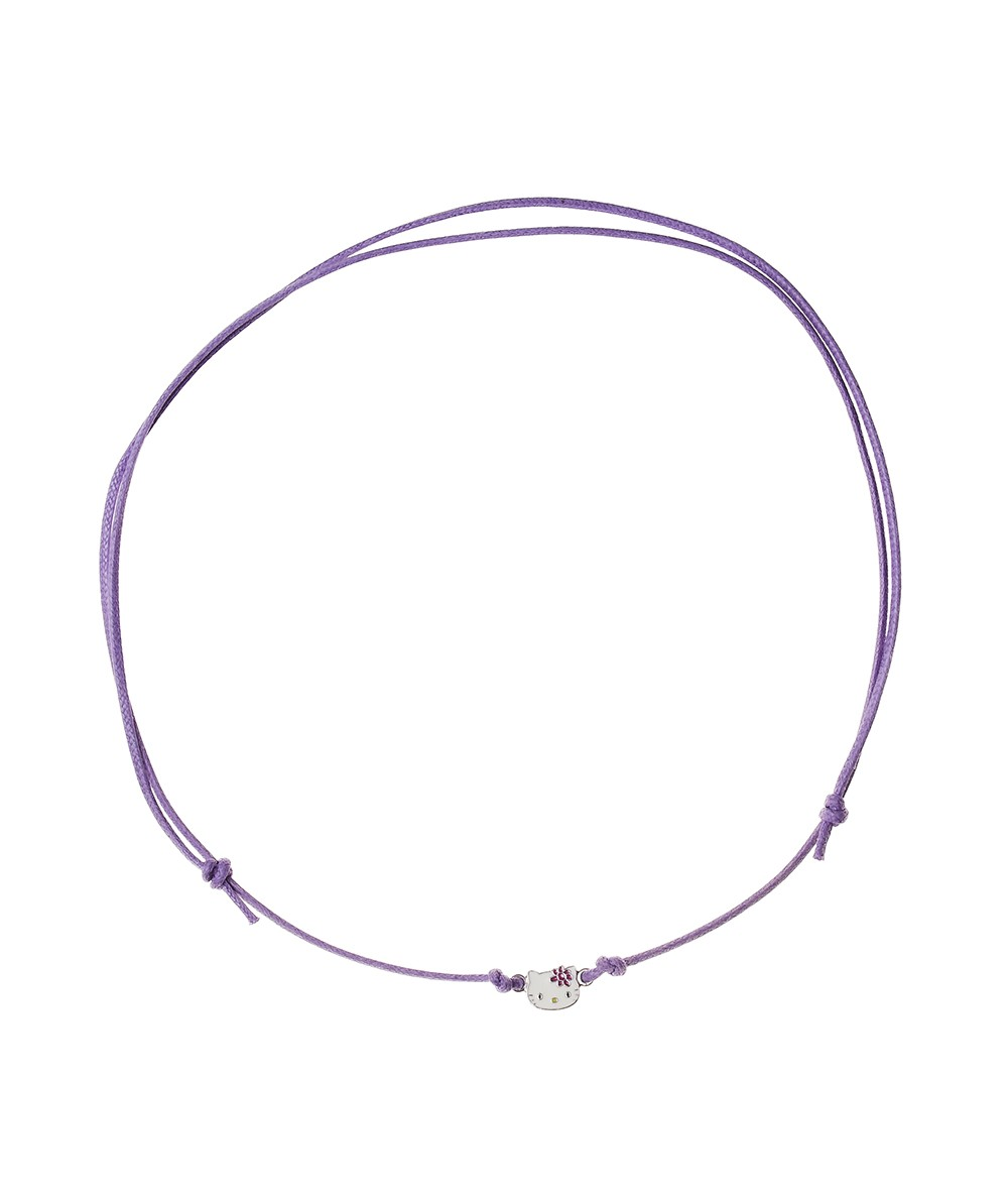 COLLAR CORDON PRETTY KITTY VIOLETA - Regalanda