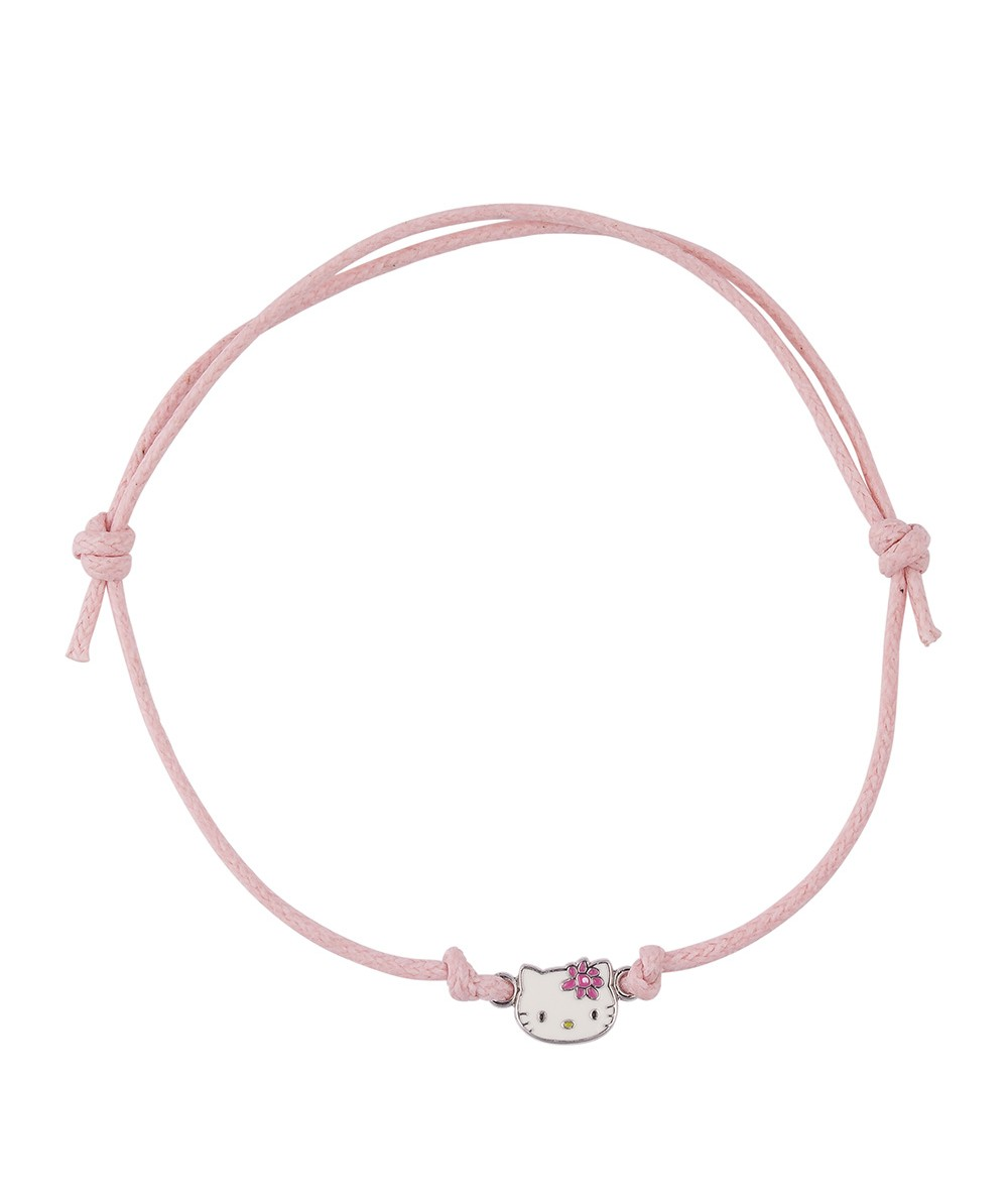 PULSERA CORDON PRETTY KITTY ROSA - Regalanda